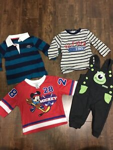 3-6 month boys clothing