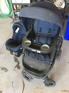 Graco 6 in 1 Stroller and Car Seat with Click Connect