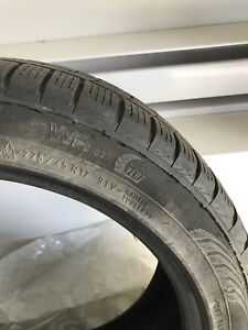 Nokian runflat 225 45 17 pneus BMW ete