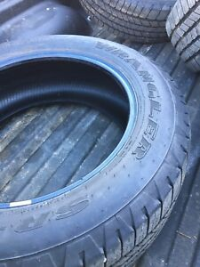 REDUCED 275/55R20 Goodyear wranglers
