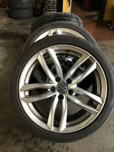 VW Audi Summer Set (Tires + Mags) Yokohama 18""