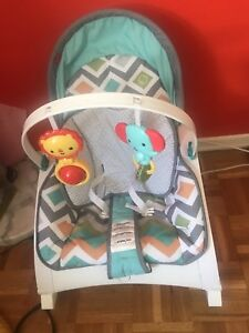 Fisher-Price Newborn-to-Toddler Rocker - Glacier Wave
