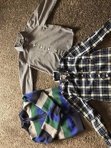 5T button up dress shirts and sweater