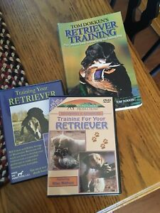 Retriever Traning DVDs and Book
