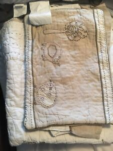 Crib little lamb bedding, sheets, bumper and other bedding