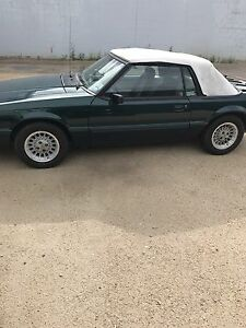 1990 Ford Mustang convertible 7 up addition now saftied
