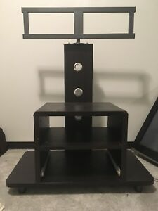 Swivel tv stand for flat screens