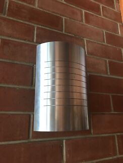 10 Stainless Steele Wall lights