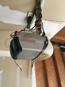 Craftsman 1/2HP with keypad & remote