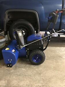 80 Volt Battery Snowblower