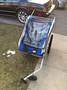 Bell two seated bike trailer