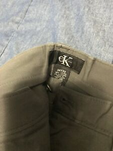 CK fitted pants 34x32
