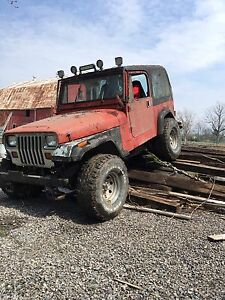 Ls swapped jeep yj