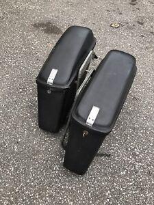 Harley Davidson Shovelhead Saddlebags with mounts