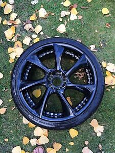 Tires and rims 245/35/20
