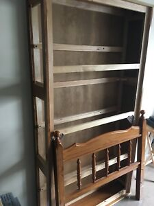 Small three drawer single captains bed