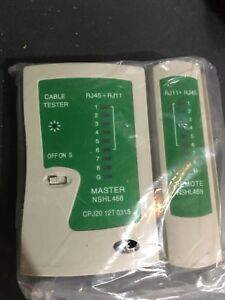 Cable tester Rj45 & RJ11 conection