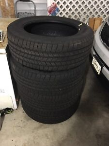 Goodyear Wrangler SR/A Tires (278/55R20 - Only 25km on them)