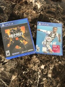 Brand New PS4 Call Of Duty Black Ops 4 Or FIFA 19 Forsale !