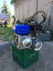 196cc 6.5hp with torque converter