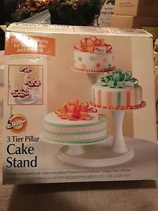 3 Tiered cake stand