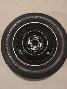 Like new  1x winter tire on winter rim
