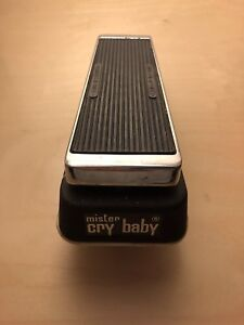 Mister Cry Baby/volume pedal vintage rare Italian made