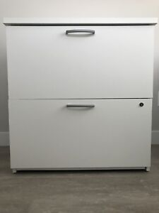 White Filing Cabinet - Excellent Condition
