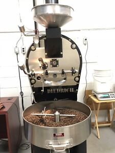 Turnkey coffee roasting facility shared space.