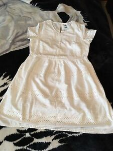 White dress size M