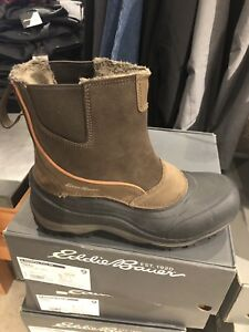Men's waterproof slip on Eddie Bauer boot