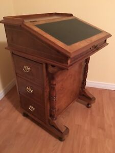 Vintage Desk/ Secretaire with Chair - a classic one of a kind