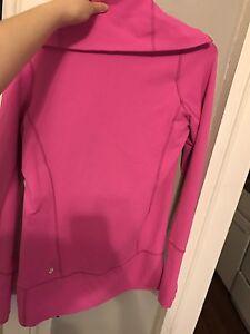 Pink size 4 Lululemon sweater