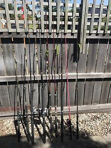 9 Fishing Rods Howrah Clarence Area Preview