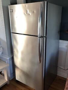 3 year old Stainless Frigidaire Gallery Fridge
