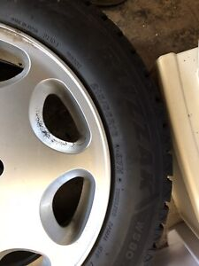 4 Mercedes rim and winter tires
