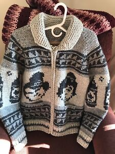100% wool Canadian made sweaters