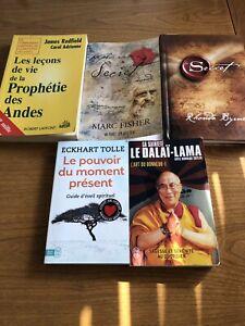 5 livre de spiritualité le tous 5$