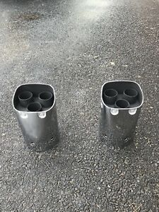Factory Chrome Honda Goldwing 1800 Exhaust Tips Enfield