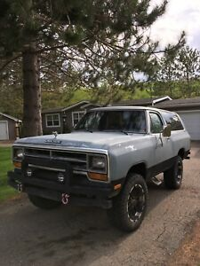 1987 Dodge Ramcharger