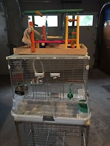 Bird cage with Activity Centre