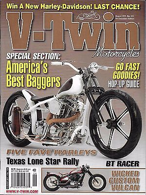 V-Twin Motorcycle Magazine Americas Best Baggers Hop Up Guide Custom Vulcan