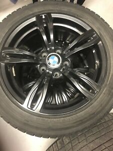 Selling set of 4 winter tires for BMW X1 & 3-series