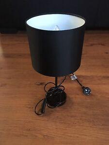 Ikea black bedside lamps Eden Hill Bassendean Area Preview