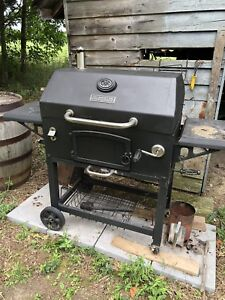 """Master Forge 32"""" smoker BBQ in great condition w/cover"""