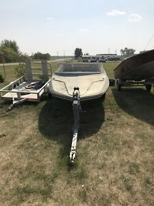 Sunray boat and trailer