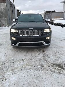 Jeep grand cherokee summit diesel 2014