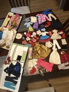 Vintage 1960's Barbie dolls and accessories