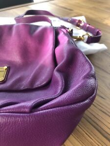 MARC JACOBS purple crossbody purse!