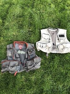 Simms fly fishing vests